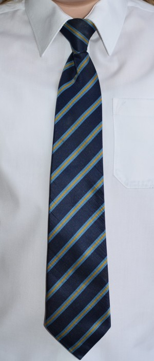 Scissett Middle School clip on tie