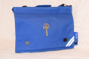 St Aidan's Academy Embroidered Document Case with shoulder strap (Including Academy logo)
