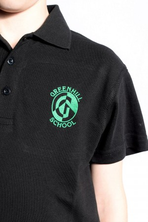 Greenhill black polo