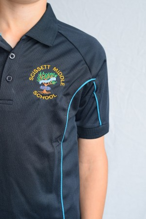 Scissett Middle School Sports Polo Shirt (Boys)