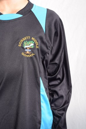 Scissett Middle School Sports Panelled Football Shirt
