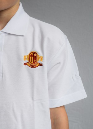 Kirkburton Middle School KMS Polo Shirt with School Logo