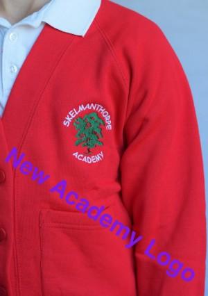 Skelmanthorpe Academy Cardigan (Including Academy logo) Zeco Brand