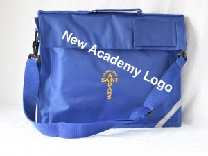 St Aidan's Academy Embroidered Book Bag with Strap (Including Academy logo)