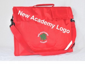 Skelmanthorpe Academy Embroidered Book Bag with Strap (Including Academy logo)