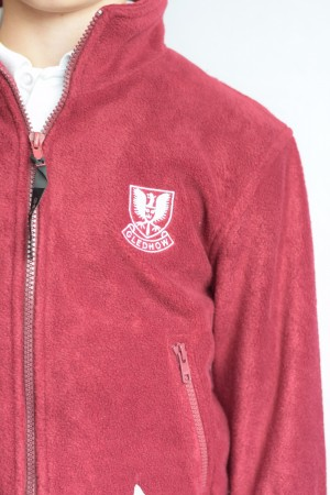 Gledhow Primary School Zip Fleece (Including school logo)