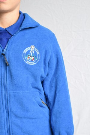 Emley First School Zip Fleece (Including school logo)