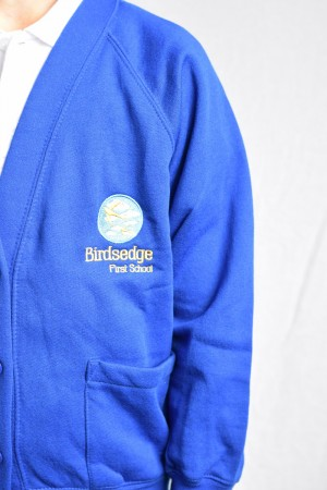 Birdsedge First School Cardigan (Including School logo)