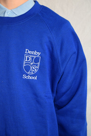 Denby C of E School Sweatshirt (With School logo)