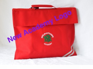 Skelmanthorpe Academy Embroidered classic book bag (Including Academy logo)