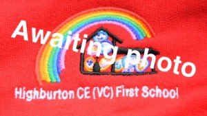 Highburton First School Red Zip Fleece (Including School logo)